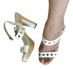 Charles & Keith White Sandals