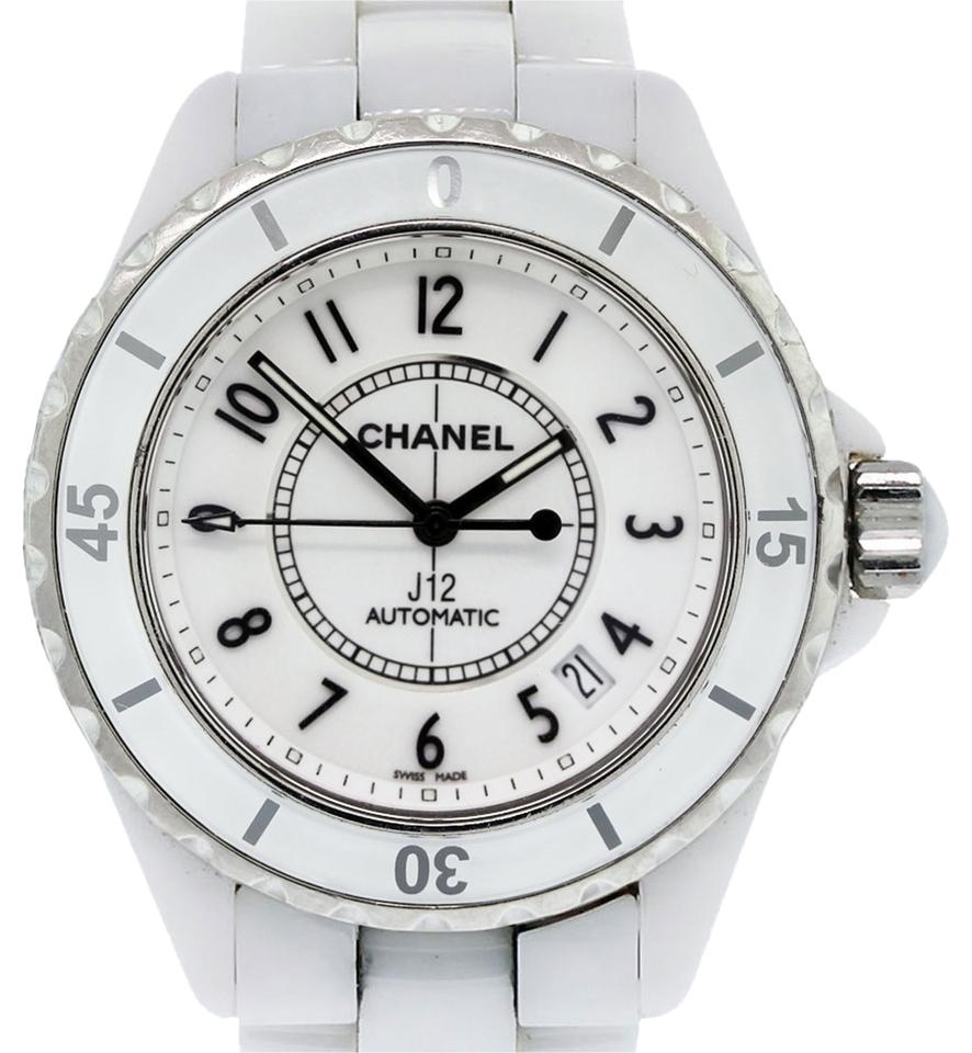Chanel White Black J12 38mm Ladies Watch 27 Off Retail