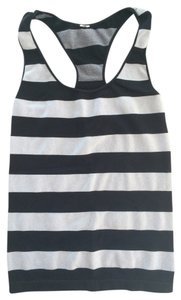 Stripe Athletic Racerback Tank Top