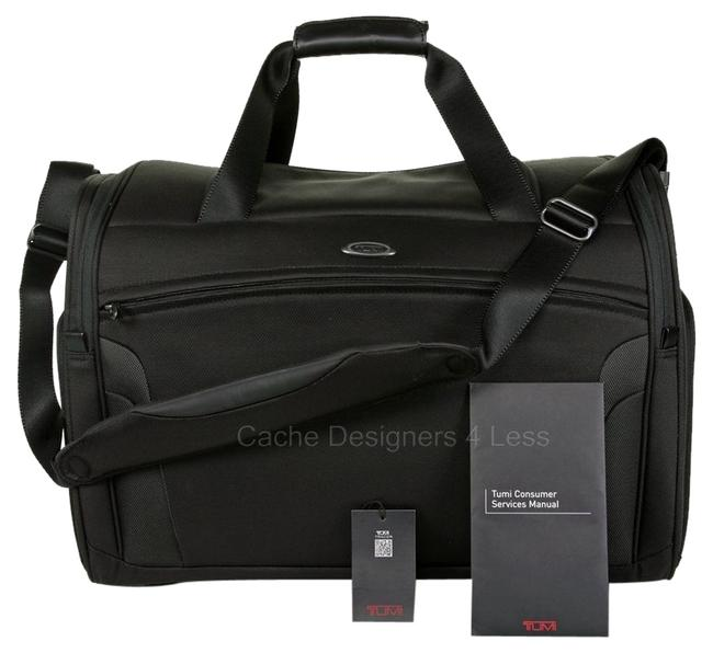 """Item - Duffle T3 Factor Carry -on 20.75"""" Luggage 6521d Black Nylon Weekend/Travel Bag"""