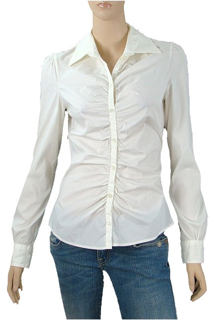 Preload https://item4.tradesy.com/images/moschino-white-cheap-and-chic-shirt-cream-stretch-cotton-shirt-button-down-top-size-8-m-1090398-0-0.jpg?width=400&height=650