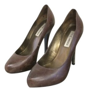Steve Madden Stiletto Heels Brown Pumps