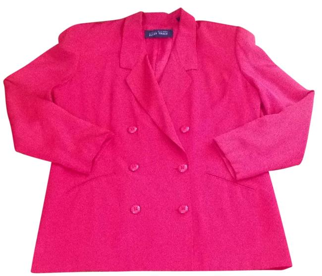 Ellen Tracy Vintage Red Blazer