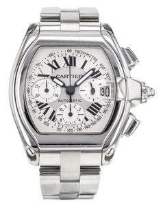 Cartier CARTIER ROADSTER 2618 CHRONOGRAPH STAINLESS STEEL AUTOMATIC WATCH