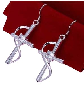 Other BNWOT ~ Infinity Cross Earrings