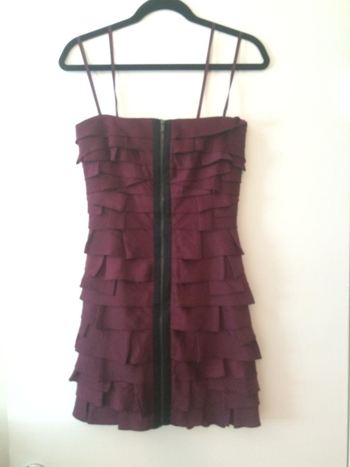 Bordouex Dress Brandie Night BCBGMAXAZRIA Out RapOnqdZwn