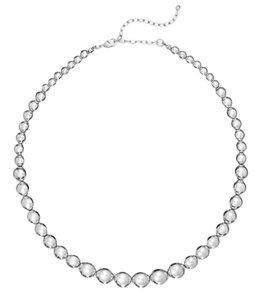 Charter Club Charter Club Silver-Tone Graduated Bead Collar Necklace