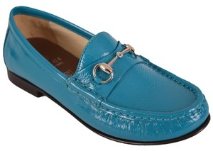 Gucci Children's Shoe Turquiose Flats