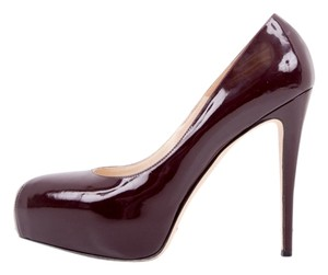 Brian Atwood Dark Burgundy Pumps
