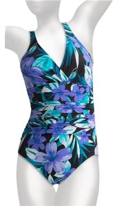 Miraclesuit Miraclesuit Asteria Floral Print Swimsuit Size 16