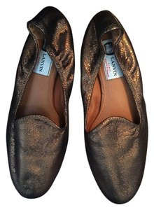 Lanvin Multi Color Smoking Metallic Flats