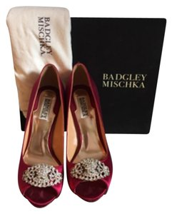 Badgley Mischka Red Formal