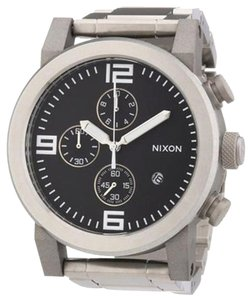 Nixon Nixon Mens Ride Stainless Steel Chronograph Watch
