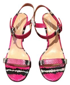 Sergio Rossi Pink multicolor Sandals