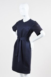 Isaac Mizrahi Navy Dress