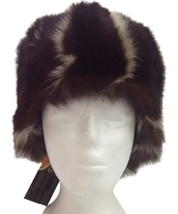 Other HAND MADE NATURAL Brown /tan. Wild racoon WOMEN'S HAT SIZE XL NEW WITH TAG
