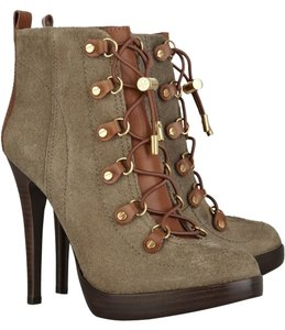 Tory Burch Olive/camel Boots