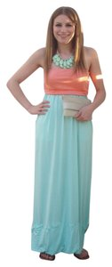 mint and coral Maxi Dress by Always Maxi