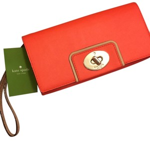 Kate Spade Flame (coral) Clutch