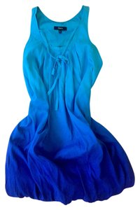 Express short dress ombre blue on Tradesy
