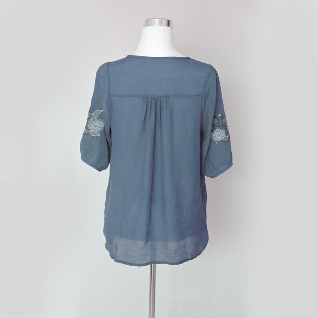 Other Button Down Shirt Blue Image 1