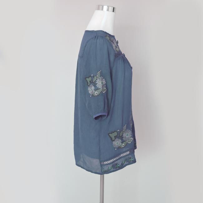 Other Button Down Shirt Blue Image 2