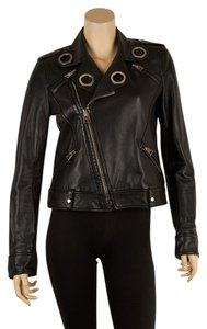 Tom Ford Leather Grommet Tf Leather Jacket