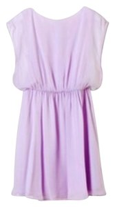 Alice + Olivia short dress lilac on Tradesy