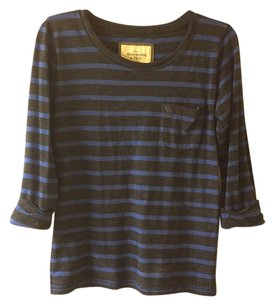 Abercrombie & Fitch Top Navy and Royal blue