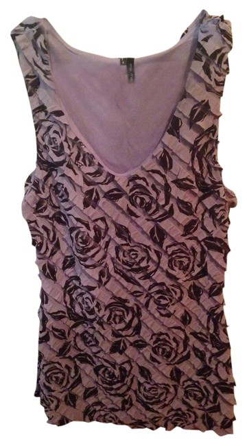 Preload https://item5.tradesy.com/images/maurices-purple-and-black-ruffle-floral-tank-topcami-size-6-s-1091119-0-0.jpg?width=400&height=650