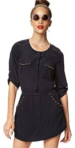 Forever 21 Studded Date Shirt Dress