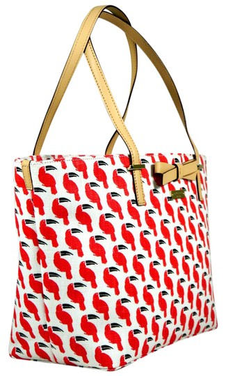 Preload https://item4.tradesy.com/images/kate-spade-toucan-print-msrp-red-black-and-white-linen-with-chintz-coating-tote-1091263-0-2.jpg?width=440&height=440