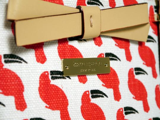 Kate Spade Tote in Red Black and White