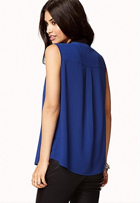 Forever 21 Color-blocking Night Out Date Night Top Image 1