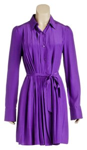 A.B.S. by Allen Schwartz short dress Purple on Tradesy