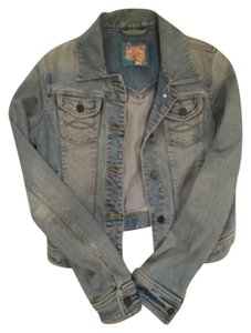 Abercrombie & Fitch Washed Denim Womens Jean Jacket
