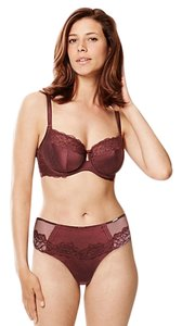 ROSIE FOR AUTOGRAPH ROSIE Silk Non-Padded Underwired Bra 2 Underwear Set Size 34 C M
