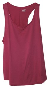 Old Navy Slim Fit Drop Tail Pink Flamingo XXL Polyester Blend Tank Top