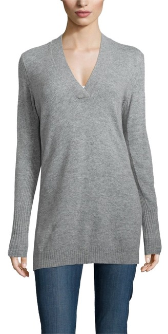 Preload https://img-static.tradesy.com/item/10915234/christopher-fischer-gray-vee-cashmere-sweater-tunic-size-0-xs-0-1-650-650.jpg