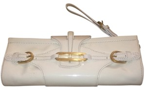 Jimmy Choo Cream Clutch