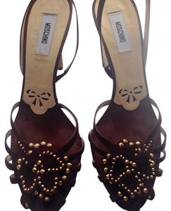 Moschino ?collection Vintage Brown Pumps