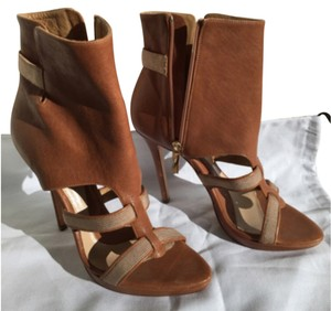 Hervé Leger Brown booties Boots