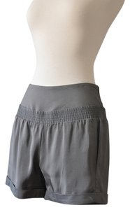 Theory Silk Made In Usa Theyskens Night Out Dress Shorts grey