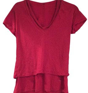 Monrow T Shirt red