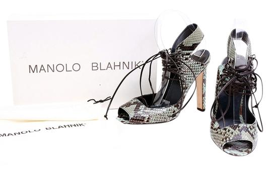 Preload https://img-static.tradesy.com/item/10915636/manolo-blahnik-multicolorblackgreen-breda-snakeskin-lace-up-sandals-pumps-size-us-85-regular-m-b-0-1-540-540.jpg