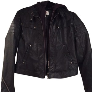 Bernardo black Leather Jacket