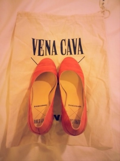 Vena Cava Chunky Clear Red, Transparent Lucite Pumps
