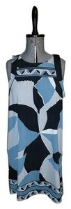 BCBGMAXAZRIA short dress blue, gray, navy on Tradesy