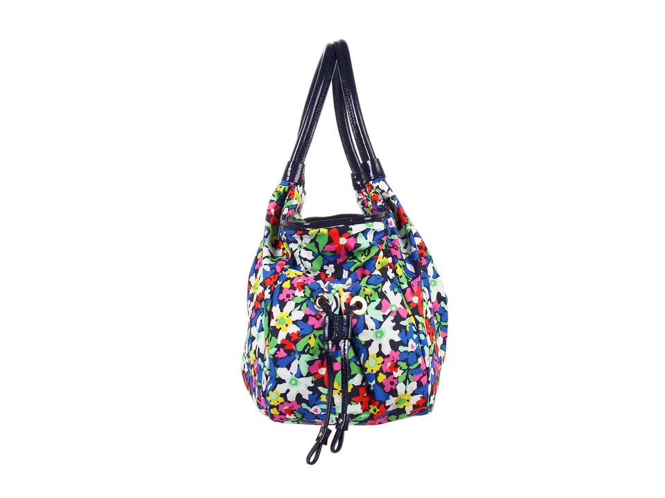Kate Spade Nwt New York Carroll Gardens Flower Stevie Baby Diaper Shoulder Bag Multi Blue Floral ...