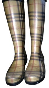 Burberry Classic Print Boots